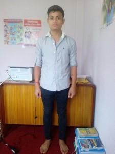 Rukesh Shresta -Nieuwsbrief foto